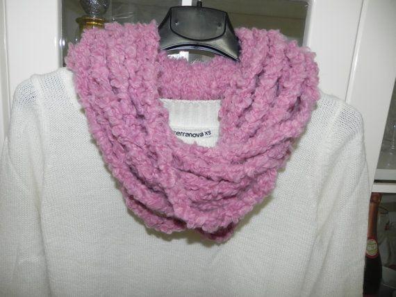 Scaldacollo sciarpa donna  handmade di Ciuppinociuppinino su Etsy
