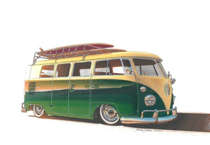 VW Bus T1 by DominikScherrer