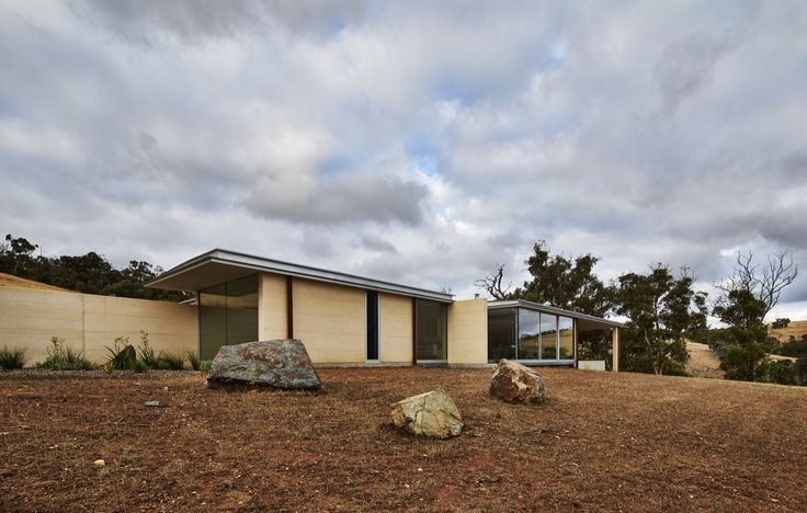 Completed in 2016 in Australia. Images by Peter Bennetts. . Located and hour and a half north of Perth in the Chittering valley. The landscape is a combination of cleared areas for farming and bushland. Gently...