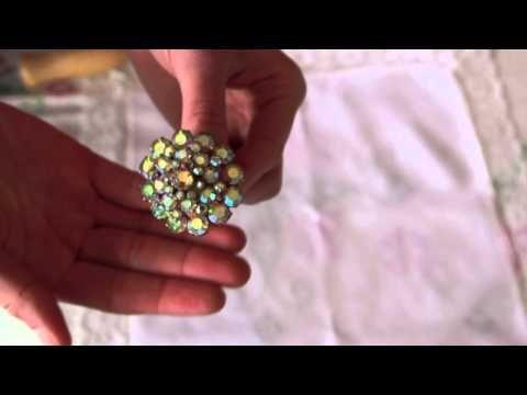 Brooch Bouquet Tutorial - YouTube