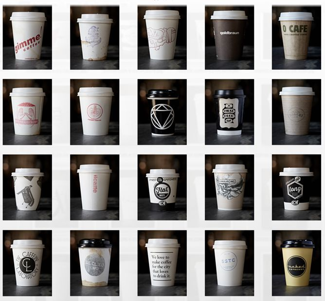The World's Most Clever and Unique Disposable Coffee Cups