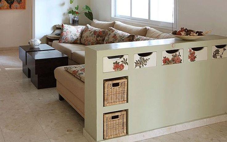 #decoracion - 7 ideas para dividir espacios en un loft