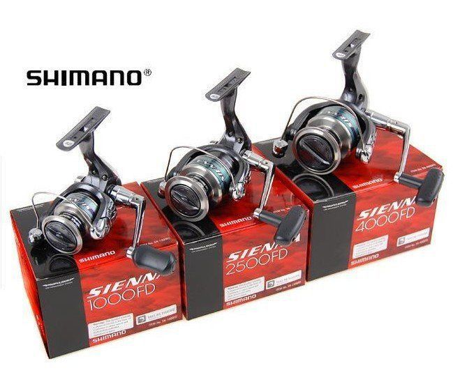 Shimano Fishing Sienna Front Drag Spinning Reels SN1000FD/2500FD/4000FD  #Shimano