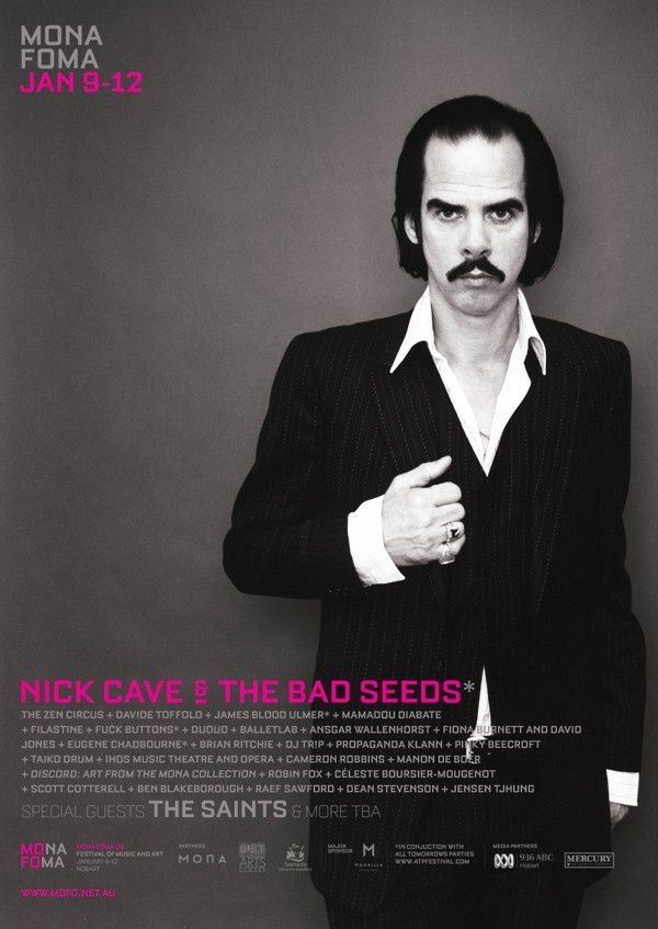 Nick Cave & The Bad Seeds at MONA FOMA