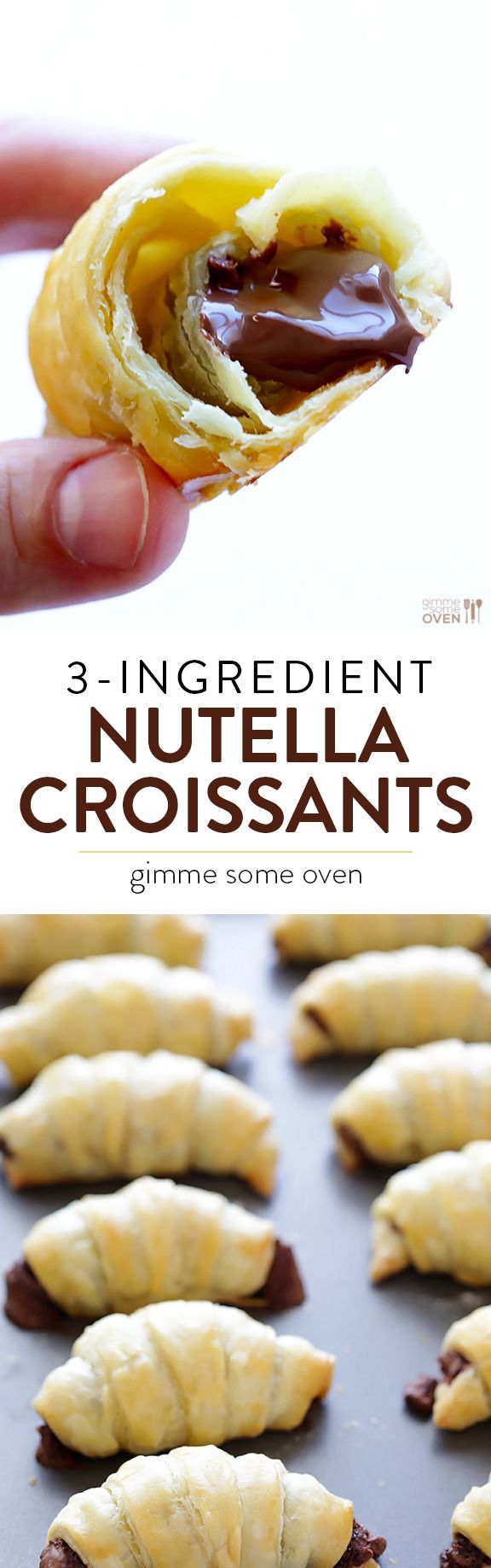 All you need are 3 ingredients to make these easy and delicious treats! | gimmesomeoven.com