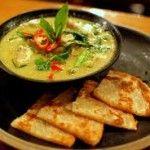 Chestnut Mushroom & Vegetable Green Thai Curry