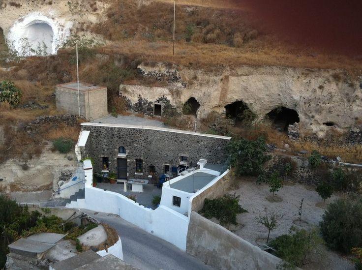 Vothonas village, Santorini