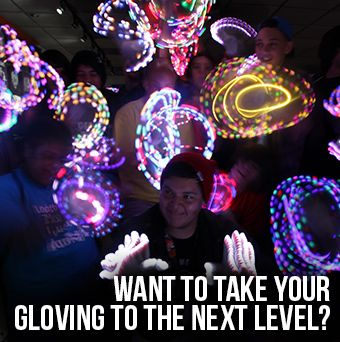 Light Show Gloves, Rave Lights, Orbit,glow gloves,Rave Store, Gear: EmazingLights
