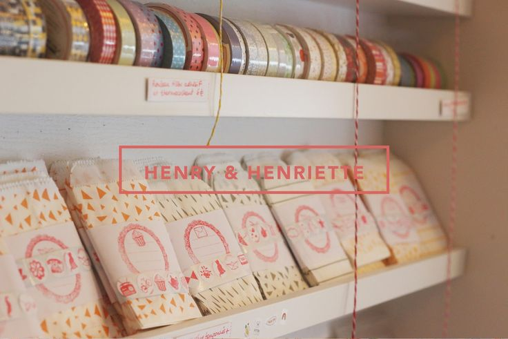 Team Etsy Nantes / Henry & Henriette, mercerie et paillettes