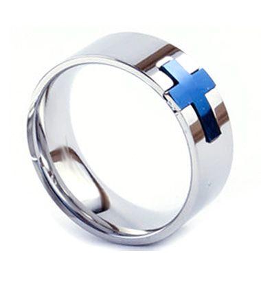 Forever Cross Ring (Blue) on SonGear.com