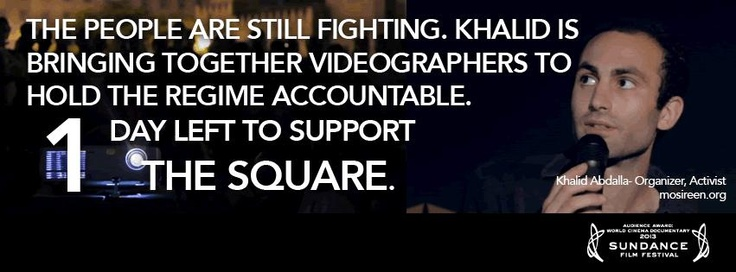 JUST A FEW HOURS LEFT!     IF YOU DONATE NOW your pledge is DOUBLED! Anonymous backer has will match EVERY SINGLE DOLLAR Any extra funds that are raised will go towards the amazing team at our office in Cairo who are continuing to capture events as they happen on the ground, and help replace the equipment that was confiscated during filming.     SHARE, PIN, TWEET, POST