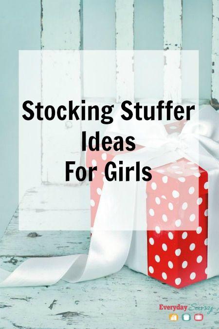 Stocking Stuffer Ideas for Girls