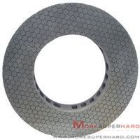 vitrified diamond / CBN grinding disc. More Superhard's can provide the whole resolution system for products grinding , especially the solution for high-precision grinding and the high quality double-width grinding wheels.    The vitrified CBN grinding wheel is used for fine grinding bearing faces,piston rings, gaskets, shims, compressor parts, cam rings, rotors, blade faces, semiconductor materials, magnetism materials  http://www.moresuperhard.com/Products/diamond-CBN-grinding-disc.html