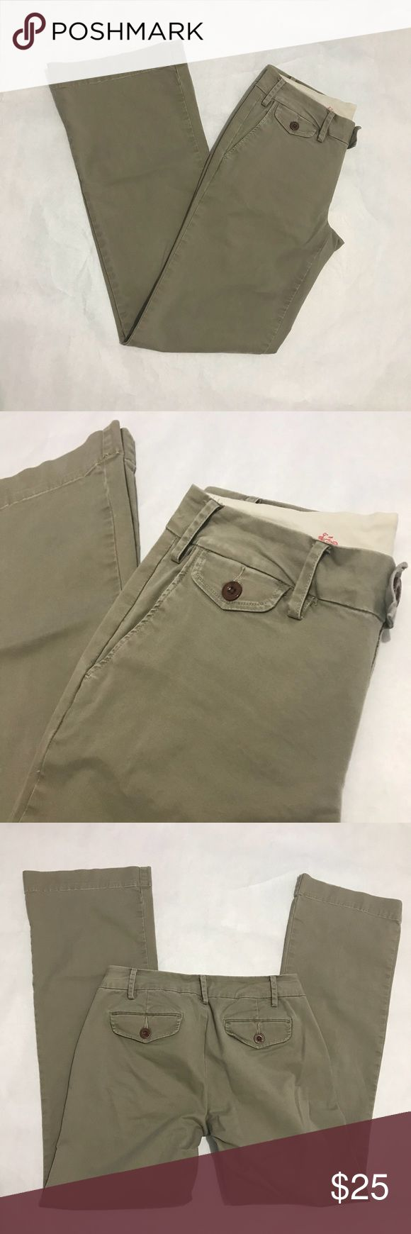 Paper Boy (Anthropologie brand) khakis size 2 This pair of khakis from Paper Boy (a brand sold at Anthropologie) is in EUC with no holes, tears, or stains. Bundle with other items from my closet for the best deal! Paperboy Clothing Pants Boot Cut & Flare