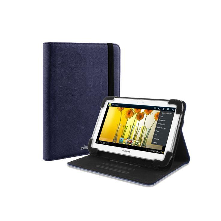 """Θήκη universal PURO Booklet για tablet 7""""- μπλε"""