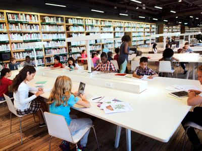 """Librarians are at the forefront of helping schools become """"future ready."""" Michelle Luhtala and Mark Ray discuss what it means to be Future Ready."""