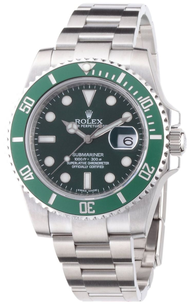 Rolex Submariner Green Dial Steel Mens Watch 116610LV Reviews