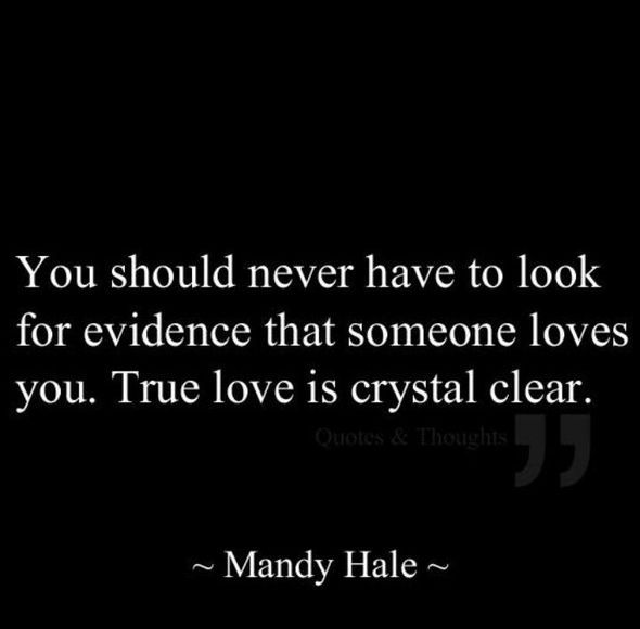 You Should Love Me Quotes: Crystal Clear Quotes. QuotesGram
