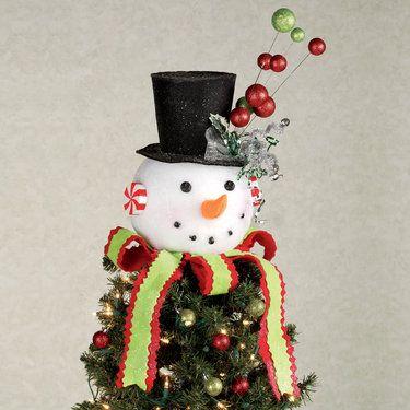 240 best christmas tree toppers images on pinterest. Black Bedroom Furniture Sets. Home Design Ideas