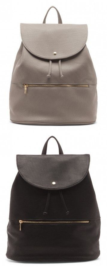 Backpack Purse in Grey or Black
