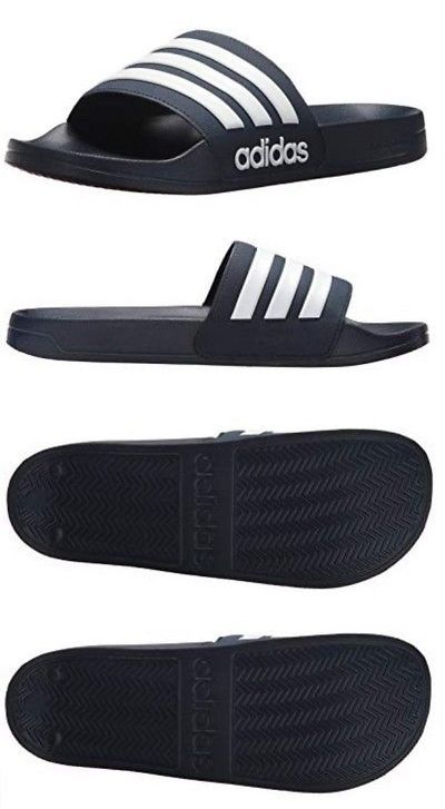 bb4506734 Sandals 11504  Adidas Mens Adilette Shower Locker Slide Shoe Water Sandal  Color Choice Aq17 -