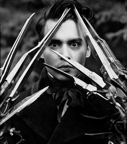 The beast within [Edward Scissorhands, 1990]