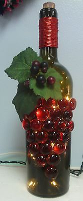 Decorative Wine Bottles in Home & Garden, Home Décor, Bottles   eBay #winebottlecrafts