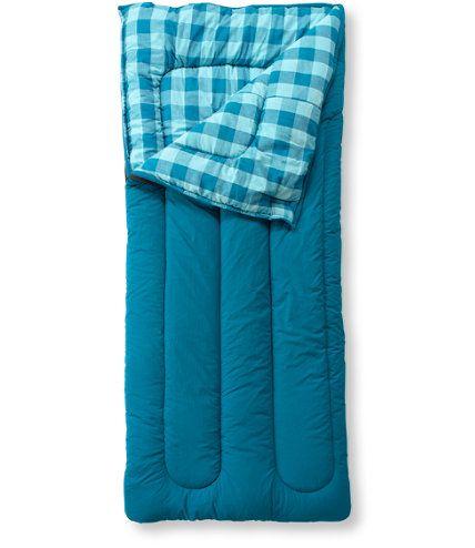 Kids Camp Sleeping Bag Flannel Lined 40 Bags
