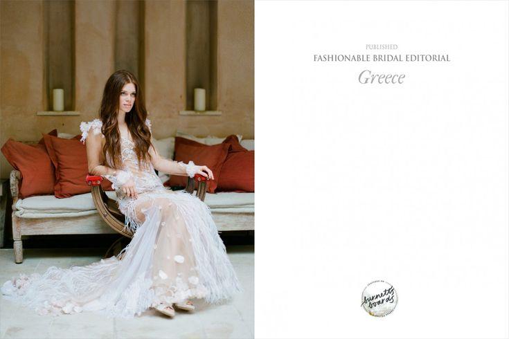 Bridal Publication on Burnett Boards