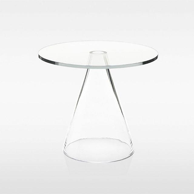 @studiogabrielleuk — STUDIO GABRIELLE RECOMMENDS — Sander Table by Mass Productions @massproductions. Swedish glass making tradition meets high tech in this exquisite side table, consisting of a hand-blown, conical base attached to a hardened glass top using ultraviolet cured adhesive #studiogabrielleuk #SGrecommends | via massproductions.se - VOTE FOR US IN #IBA17 via link in bio (@studiogabrielleuk) or via bit.ly/IBA17SG - Follow us on Instagram www.instagram.com/studiogabrielleuk