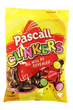 All will be revealed... when you bite into a Clinker!     Each pack contains randomly coloured sweets covered in creamy milk chocolate. Every single one will be a nice surprise.