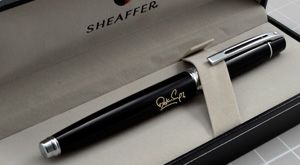 Engraved Pen - Sheaffer 9312 RB - Beautiful Sheaffer #personalized-luxury-accessories !