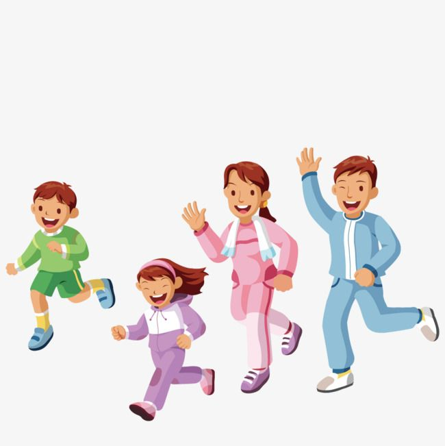 Running A Exercise Exercise Clipart Vector Run Png Transparent Clipart Image And Psd File For Free Download Kids Playmat Sports Activities For Kids Family Illustration