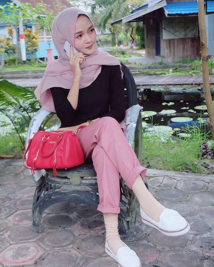 Pin oleh paper bag tas kertas di Hijab Cute Style
