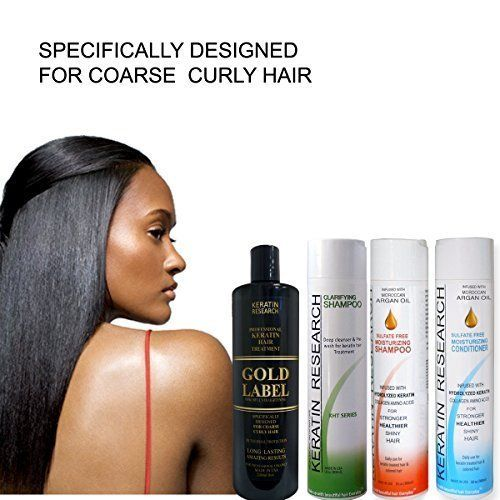Professional Keratin Blowout Treatment LARGE SET Specifically Designed for Coarse Curly Black, african, Dominican and Brazilian Hair types Super Enhanced Formula * More info could be found at the image url. #hairproduct