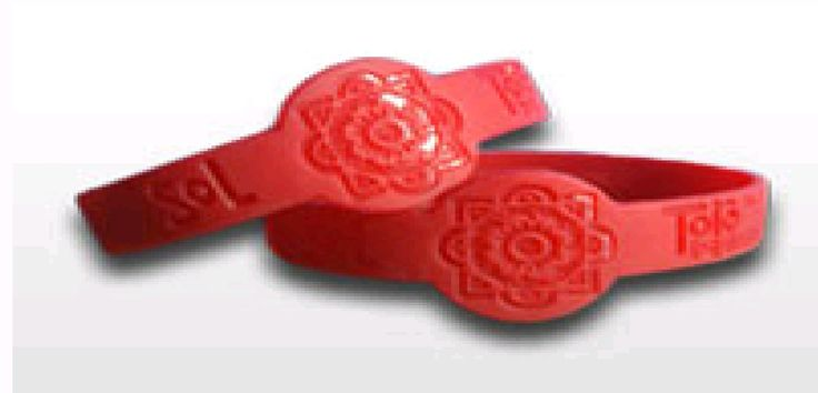 Figured Wristbands could be either debossed, embossed, ink injected, or even printed. These wristbands are greatly used for school and party events.