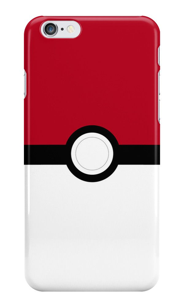 Pokeball' iPhone Case by Duffkiligan | Phone cases | Iphone cases