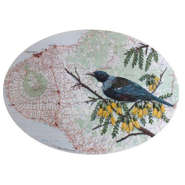 Taranaki Oval by Justine Hawksworth