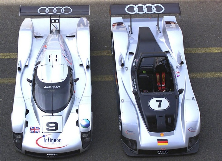 Audi Le Mans Legacy Started Here: 1999 Audi R8R And Audi R8C
