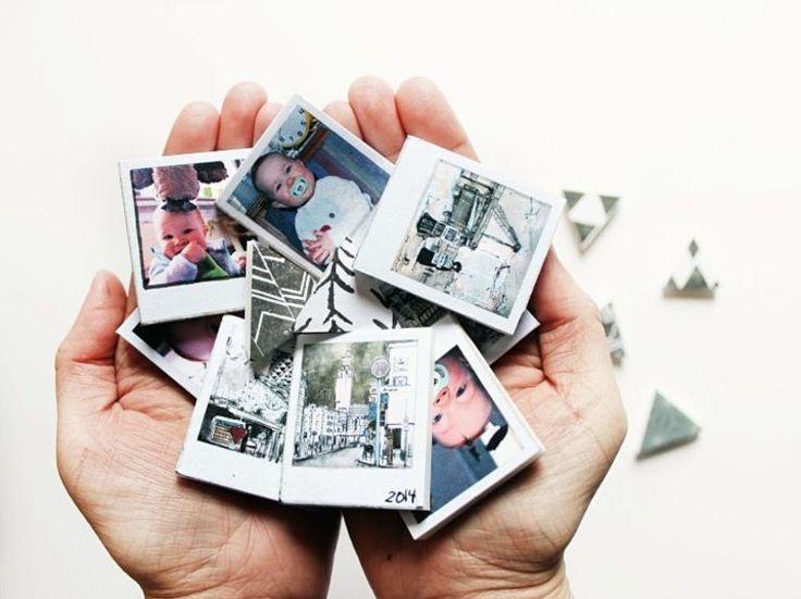 DIY-Anleitung: Magnete aus eigenen Bildern herstellen  via DaWanda.com