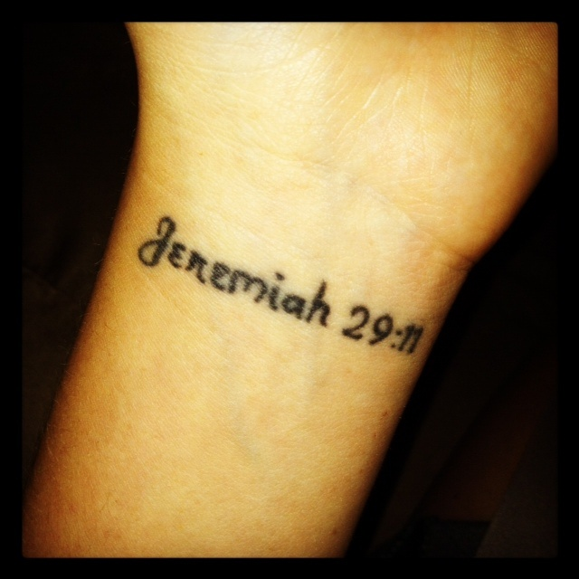 My first and most meaningful tattoo this verse has helped for Most meaningful tattoos
