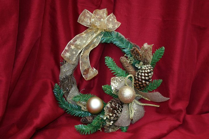 Christmas decorations ideas - Bow Luxury Handcrafted Christmas Decorations Pinterest Wreat