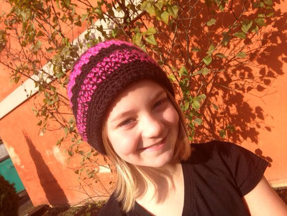 Butterfly Stitch Beanie on Etsy, $10.00