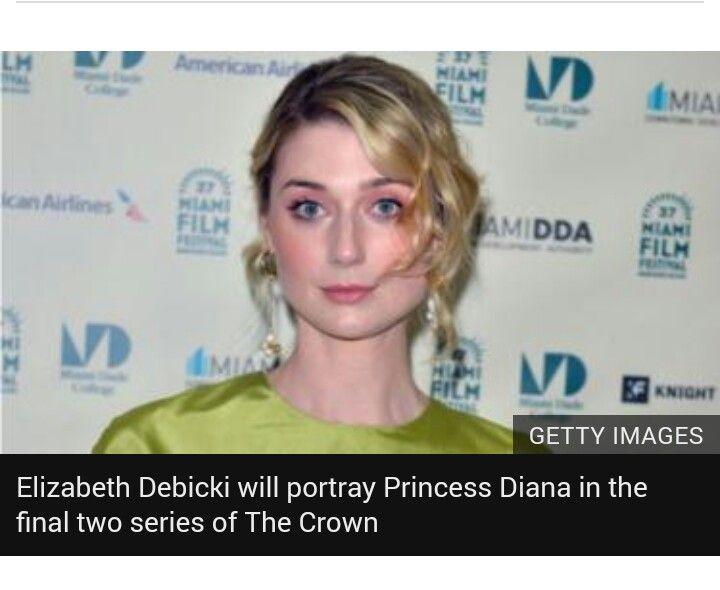 The Crown Elizabeth Debicki To Play Princess Diana In Final Series In 2020 Elizabeth Debicki Imelda Staunton The Crown