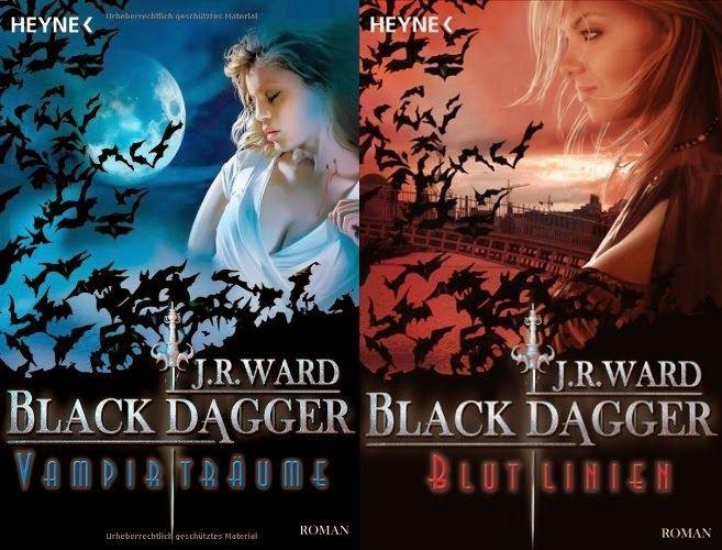 Book Loft - Two for books: J.R.Ward - Black Dagger - Blutlinie und Vampirträu...