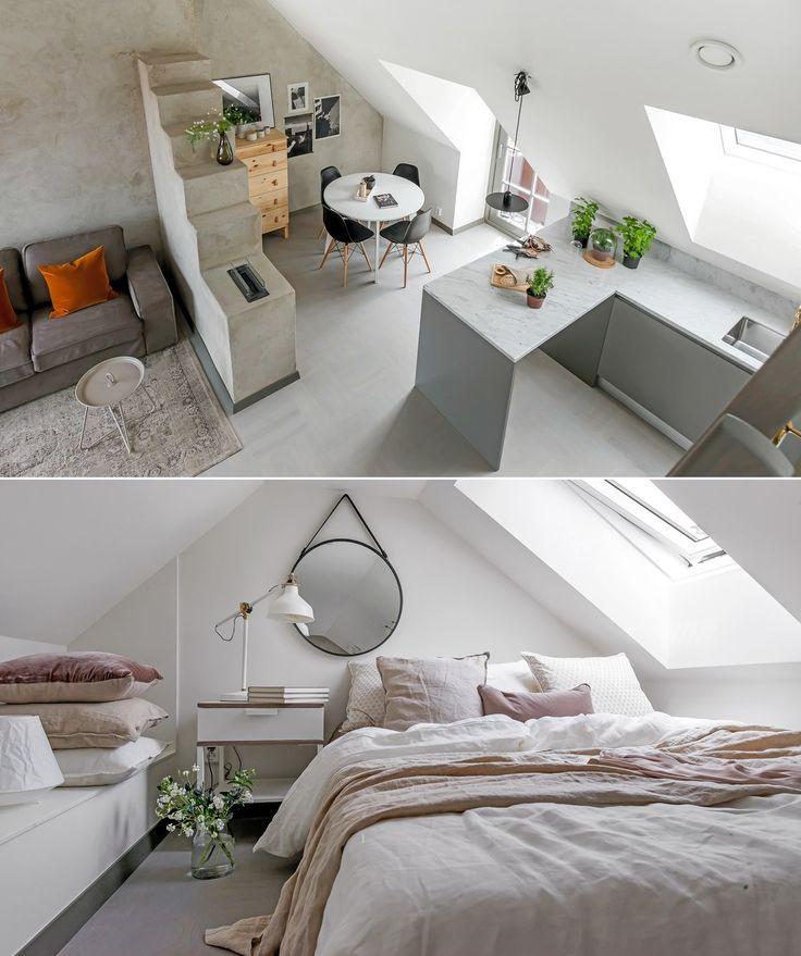 Small and serene attic loft