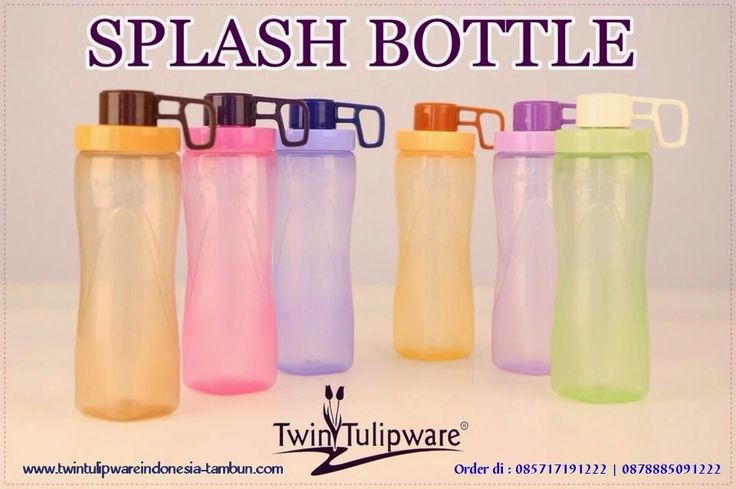 SPLASH BOTLLE 650ml Twin #Tulipware
