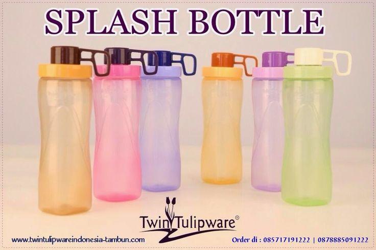 SPLASH BOTLLE 650ml Twin #Tulipware