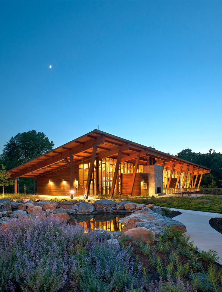 2014 U.S. Wood Design Award Winners James& Anne Robinson Nature Center in Columbia, MD by GWWO