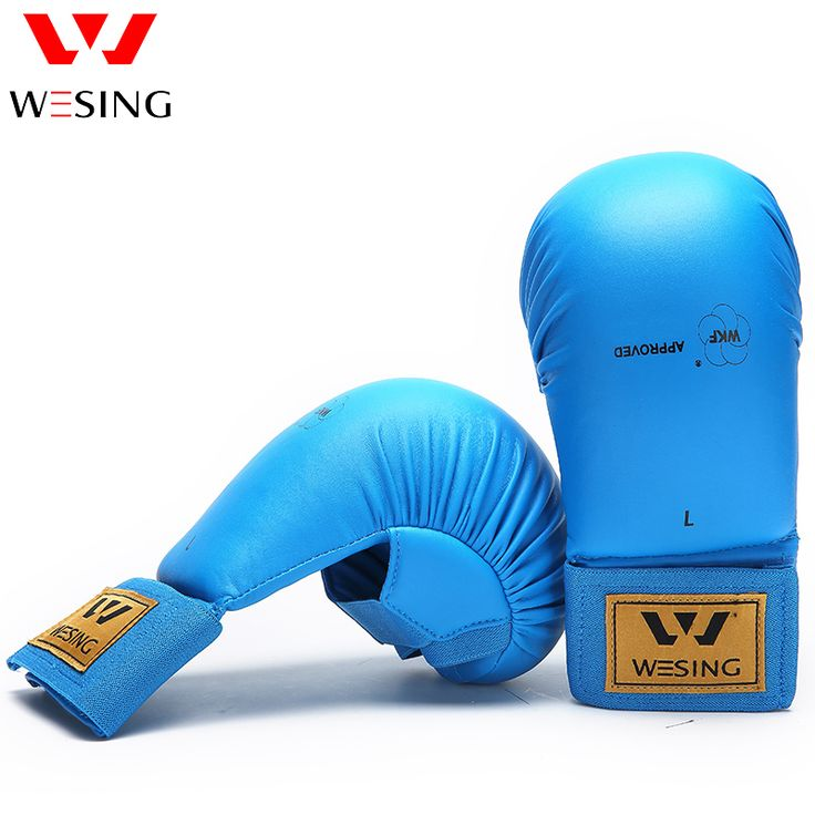 wesing karate mitts wkf karate gloves for competetion